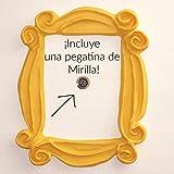 Este MARCO incluye en el envío una PEGATINA de una mirilla!. Por si no tienes mirilla en casa! ;)