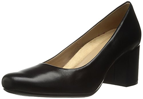 Naturalizer womens Whitney Dress Pump, Black Leather, 7.5 US