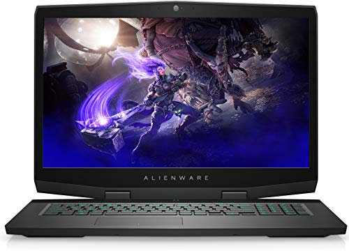 Alienware M17 Gaming Laptop, 17.3, FHD, Intel Core i7-8750H, NVIDIA RTX 2060 6GB, 256GB SSD + 1TB Storage, 16GB RAM