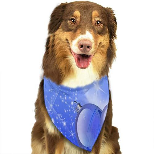 Sitear kerstversieringen ballonnen winkelen blauwe hond kat Bandana driehoek slabbetjes sjaal huisdier geschikt voor kleine tot grote hond katten