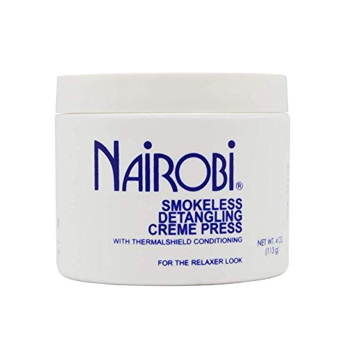 Nairobi Smokeless Detangling Creme Press, 4 Ounce