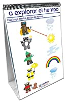 NewPath Learning 34-0124 Weather and Sky Curriculum Mastery Flip Chart Set Age 3 to 7 Spanish [並行輸入品]