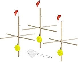 Multi 3 Pack Tip-Up with Tackle, One Size