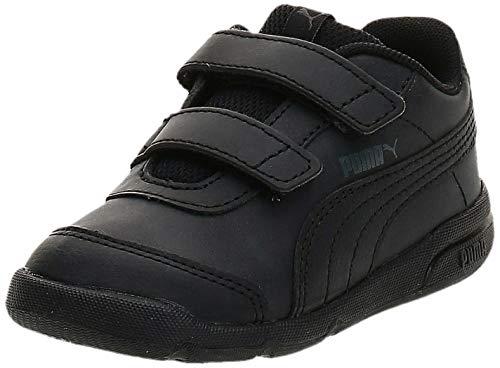 PUMA Stepfleex 2 SL VE V Inf, Scarpe da Ginnastica Unisex Bimbi 0-24, Nero Black Black, 26 EU