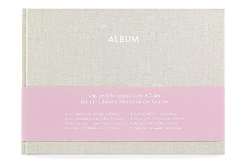 GLÜCK und SEGEN ALLES MIT LIEBE Album Pia (Cremebeige)