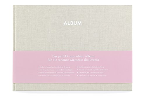 GLÜCK & SEGEN ALLES MIT LIEBE Album Pia (Cremebeige)