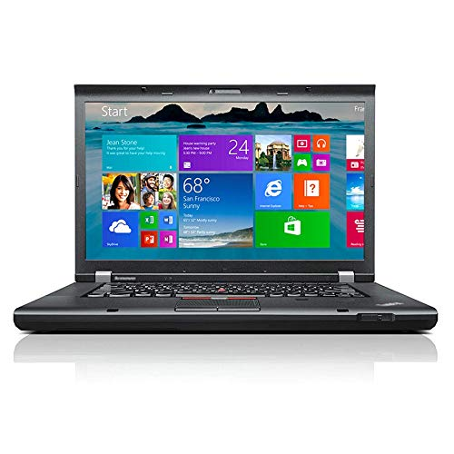 Refurbished Laptop Think pad T530 15.6 Inch Business Laptop Notebook Intel Quad Core i5-3320M 8GB Ram 500GB Hard Drive WiFi Windows 10 Pro