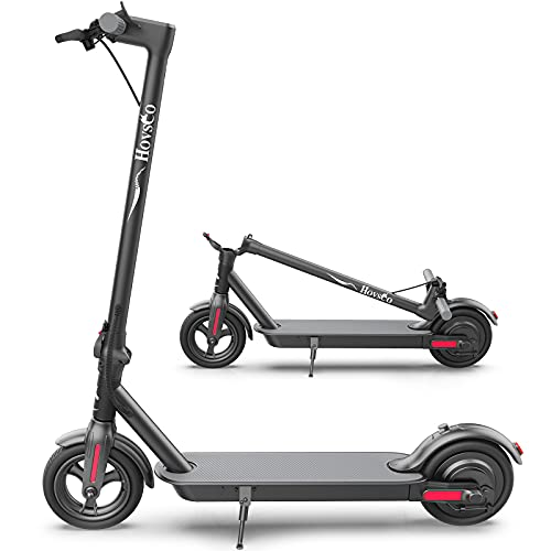 """Electric Scooter for Adults,Powerful 600W Hub Motor & Max Speed 19 MPH, 26 Miles Long Range, 8.5"""" Care-Free Tires,Portable Folding Commuter Electric Scooter for Travel and Commuting"""