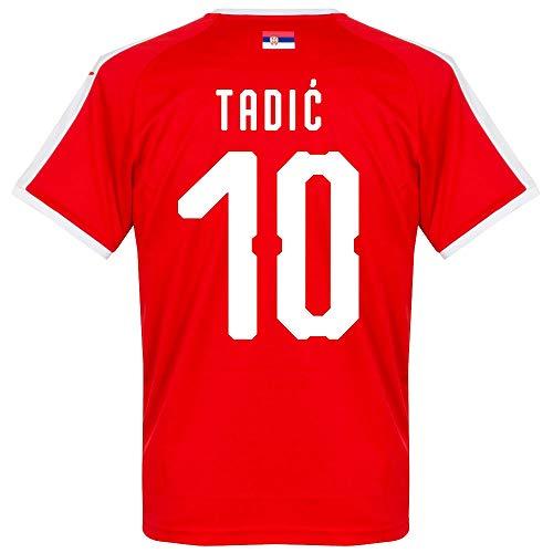 Serbien Home Trikot 2018 2019 + Tadic 10 (Fan Style) - XL
