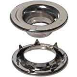 Stimpson Rolled Rim Grommet and Spur Washer Marine Grade Stainless Durable, Reliable, Heav...