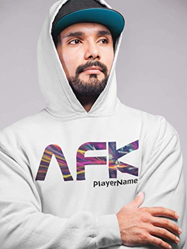 AFK - Away From Keyboard - mit oder ohne Player Name Hoodie Unisex | Gamer | Pulli | Personalisiert mit PlayerName