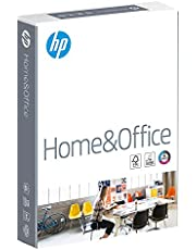 HP Home and Office Carta, Formato A4, 107 Micron, Risma 500 Fogli, Certificata ECF, PEFC ed Ecolabel, Cellulosa, Bianco