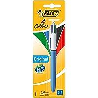 BIC 4 colores Original bolígrafos Retráctiles punta media (1,0 mm) - Blíster de 1 Unidad