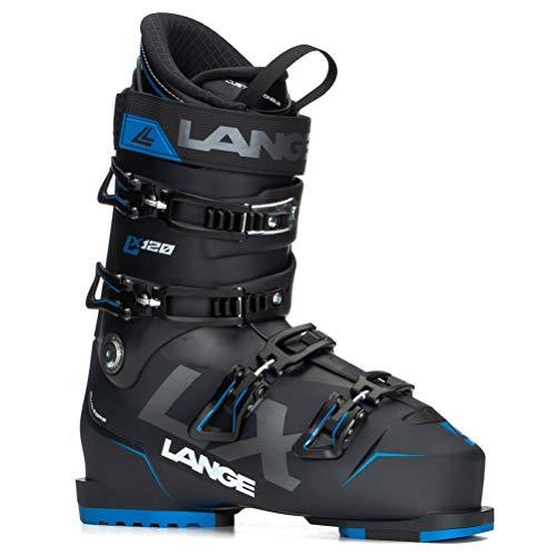 Lange LX 120 Bottes de Ski Mixte Adulte Noir/Bleu 280