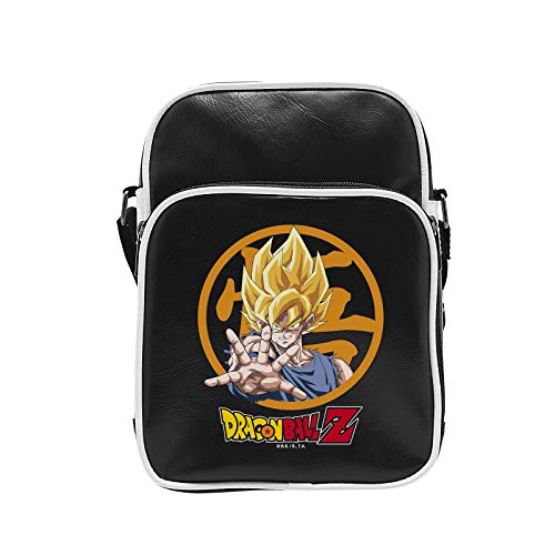 ABYstyle–Dragon Ball Z Bolsa bandolera vinilo–Goku Unisex adulto, S, abybag153