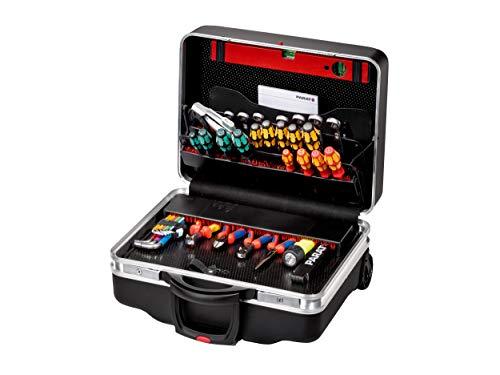 PARAT Werkzeugkoffer Classic Kingsize Roll neo (Werkzeugtafeln, CP-7 Steckfächer, Bodenschale frei unterteilbar, Dokumentenfach, ohne Werkzeug) 789500171