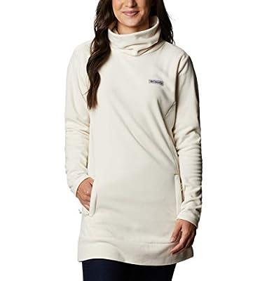 Columbia Women's Ali Peak Fleece Tunic, Chalk, X-Large