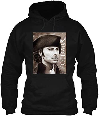 Aidan Turner Ross poldark Pastel Portrait 2 hdb 12 T Shirt Hoodie Crewneck Sweatshirt Black product image