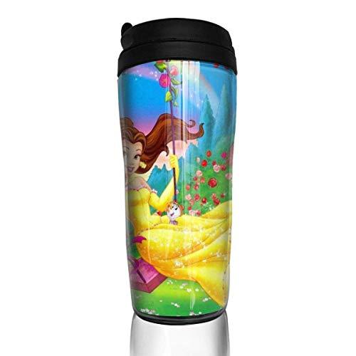 AOOEDM Fairy Tales Beauty Beast - Tazas de café de doble pared con aislamiento al vacío, 355 ml