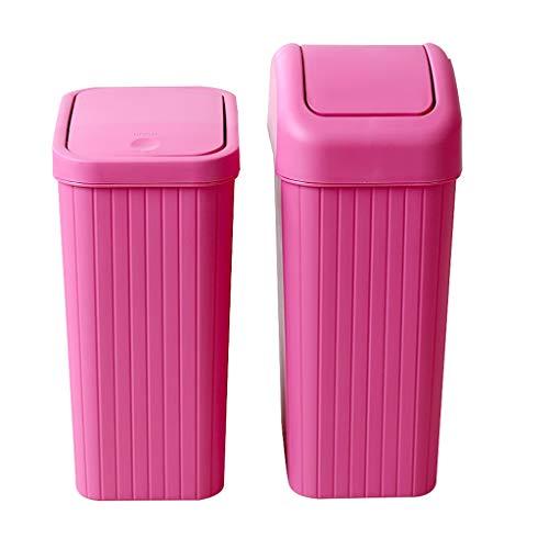 SPARROW Prullenbak keuken plastic Grote Woonkamer Toilet Slaapkamer Kantoor pop up vuilnisbakken Met deksel Ruik bestendig