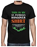Green Turtle Camiseta para Hombre - My St. Patrick's Day Hangover Shirt - Súper Divertido para el Día de San Patricio XX-Large Negro