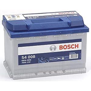 Bosch S4008 Batería de automóvil 74A/h-680A
