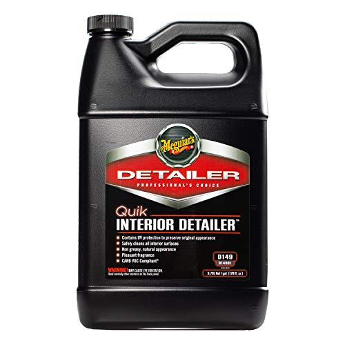 MEGUIAR'S D14901 Quik Interior Detailer, 1 Gallon, Black