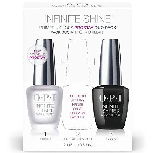 OPI Infinite Shine - Prime Base + Gloss Top Coat Duo, Nail Lacquer