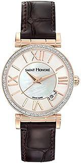 Saint Honoré Femme Analogique Quartz Montre avec Bracelet en Cuir 7520128YRR