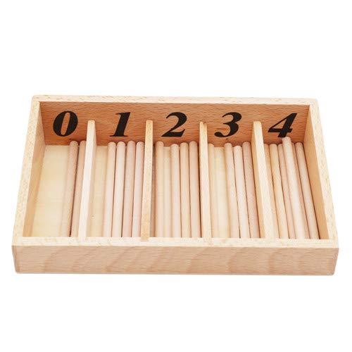 Sperrins Spindles Box Sticks Mathematics Kindergarten Mathematics Learning Toy For Kid Children Toddlers