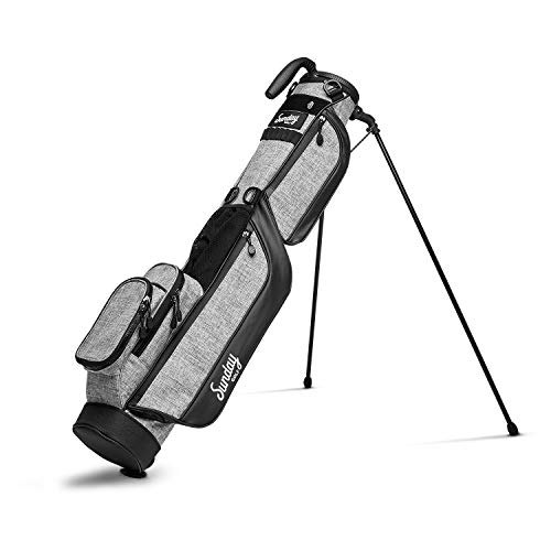 Sunday Golf Loma Bag - Lightweight Sunday Golf Bag with Strap and Stand