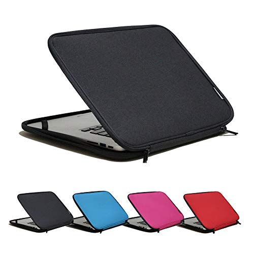 INNTZONE 13.3 pollici Stand-Type Laptop Sleeve case Bag Pouch Cover Notebook Custodia da trasporto - Nero