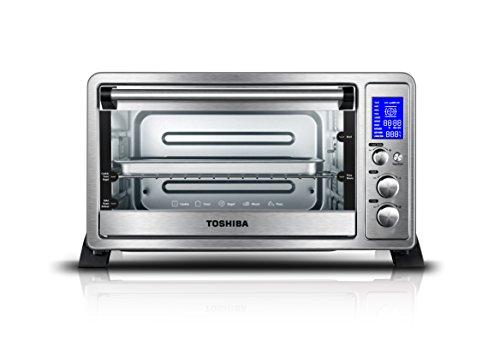 7- Toshiba AC25CEW-SS Digital Toaster Oven