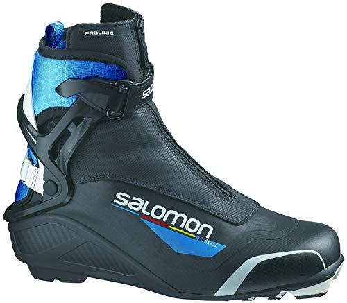 Salomon Herren Botas NORDICO RS PROLINK Ski-Stiefel, Black, 44 EU