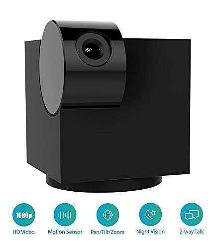 Blackbox S 1080p IP Indoor Security Camera [Wi-Fi Pan Tilt Zoom, Night Vision, Two-Way Talk, ONVIF]