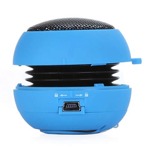 Zuilluidspreker Wired Sound Box Lound-luidspreker Stereo HiFi-audio-muziek, blauw