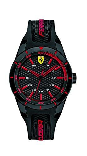 Scuderia Ferrari Reloj Analógico para Hombre de Cuarzo con Correa en Silicona 0840004