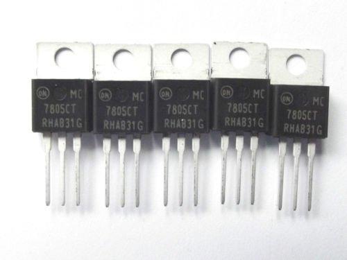 Auf halb Mc7805Ct LDO-Regler POS zu-220Ab 7805 7805Ct X5Pcs 5 V 1 A 3 pin