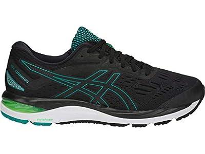 ASICS Men's Gel-Cumulus 20 Running Shoes, 11M, Black/Beryl Green