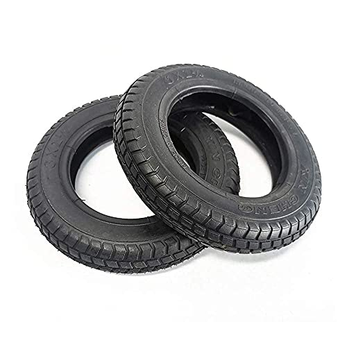LYTBJ Electric Scooter Tires, 6X2 Inner and Outer Tires Thickened wear-Resistant and Non-Slip, Suitable for 6-inch Electric Scooter Black Pneumatic Tires
