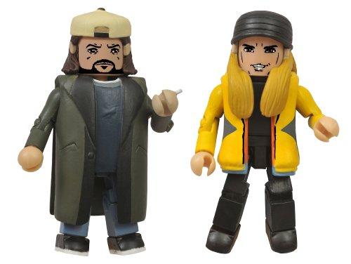 Jay und Silent Bob Schlagen zurück Minimates Actionfiguren 5 cm Doppelpack
