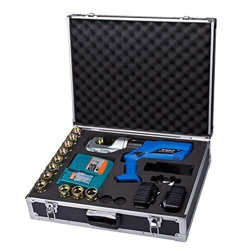 KAIBINY YY Recargable hidráulico for prensar Herramientas hidráulicas Alicates Crimper Tool Kit Crimpadora hidráulica eléctrica hidráulica Wire Crimper 16-400mm² HL-400