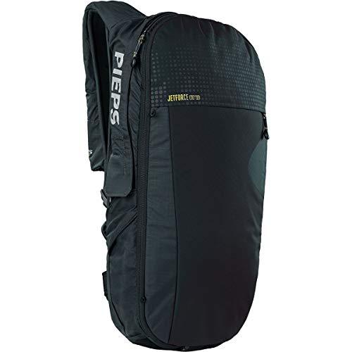 PIEPS Jetforce BT Pack 10 Avalanche-Safety Backpack, Black, M/L