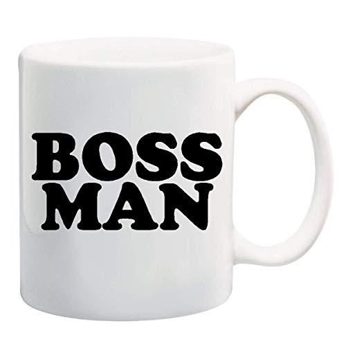 Mugs-XHPrint Boss Man Mug Cup - 11 Ounces