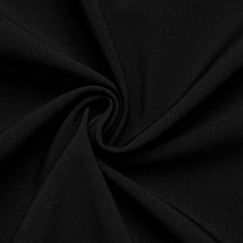 Arctic Softshell - tessuto impermeabile al vento & all'acqua - laminato a 3 strati - stoffa al metro (nero)