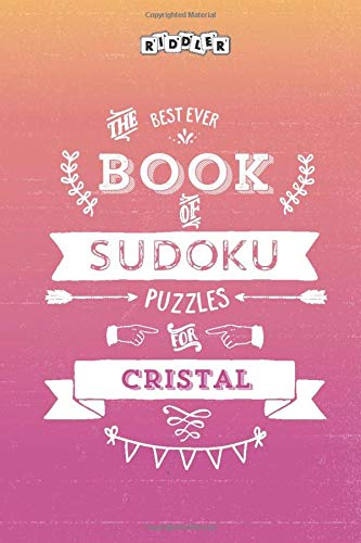 The Best Ever Book of Sudoku Puzzles for Cristal