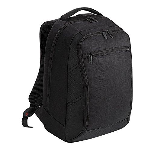 Quadra Executive Digital Laptop-Rucksack (One Size) (Schwarz)