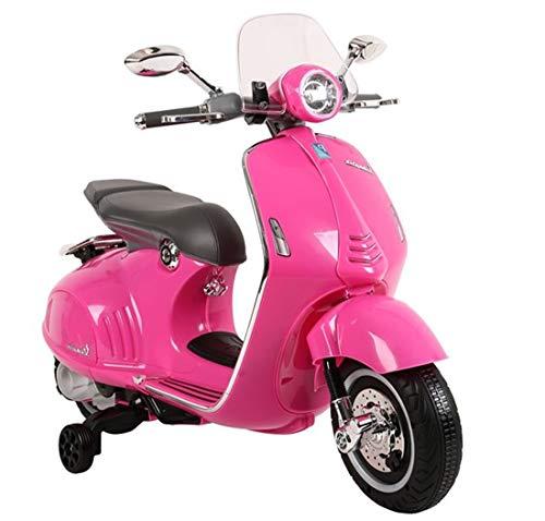 fit4form Elektroroller Vespa GTS 300 Classic 12V Pink rosa Motorroller Kinderroller elektrisch