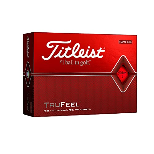 TITLEIST TruFeel Bälle 12Stk. rot