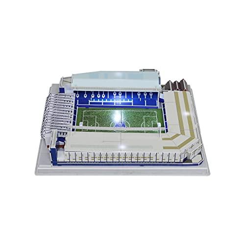 Premier League PZLZ Everton 3D Light Up Goodison Park Stadium Puzzle DIY Modelo Construcción